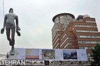 Tehran, Iran - Billboards swap - Tehran is an art gallery 2015 - 26