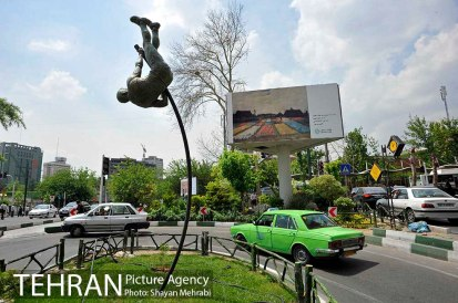 Tehran, Iran - Billboards swap - Tehran is an art gallery 2015 - 72