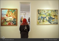 Tehran, Iran - Laleh Gallery - In memory of Hannibal Alkhas by his students 10