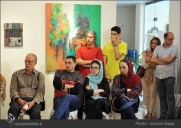 Tehran, Iran - Laleh Gallery - In memory of Hannibal Alkhas by his students 11