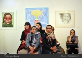 Tehran, Iran - Laleh Gallery - In memory of Hannibal Alkhas by his students 13