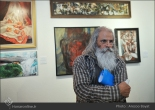 Tehran, Iran - Laleh Gallery - In memory of Hannibal Alkhas by his students 4