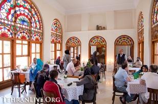 Tehran, Iran - Masoudieh Palace - Cafe