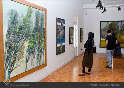 Tehran, Iran - Shahrivar Gallery - Abolghassem Saidi 1st Iran solo exhibition - 1