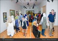 Tehran, Iran - Shahrivar Gallery - Abolghassem Saidi 1st Iran solo exhibition - 13