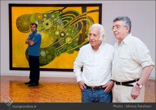 Tehran, Iran - Shahrivar Gallery - Abolghassem Saidi 1st Iran solo exhibition - 9