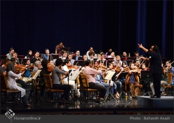 Tehran, Iran - Tehran Symphony Orchestra - Rehearsal 5