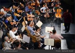 Tehran, Iran - Tehran Symphony Orchestra - Rehearsal 6