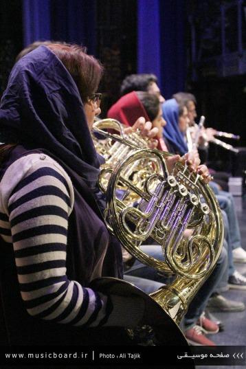 Tehran, Iran - Tehran Symphony Orchestra - Rehearsal 9