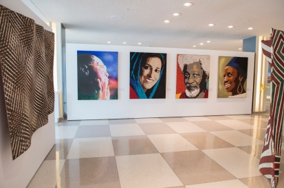 Photo credit: Exhibit photos for the UN PGA Office.