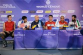 IRAN - USA --Press conference before the match