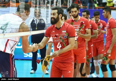 IRAN - USA - 2015 World League match, Tehran, Iran - June 19, 2015