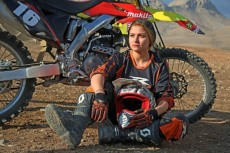 Behnaz Shafiei - Iran woman professional motocross 2a