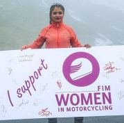 Behnaz Shafiei - Iran woman professional motocross 4