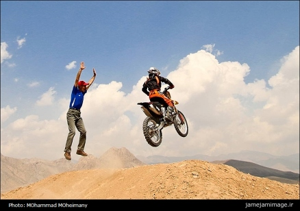 Behnaz Shafiei - Iran woman professional motocross 6