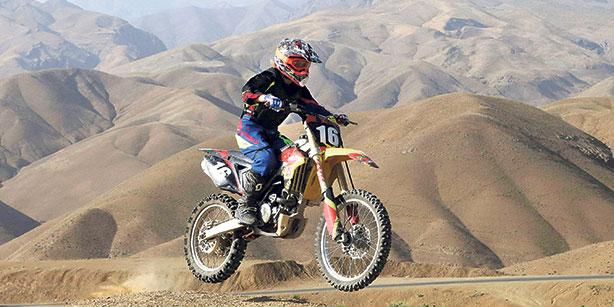 Behnaz Shafiei - Iran woman professional motocross 8
