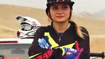 Behnaz Shafiei - Iran woman professional motocross 9