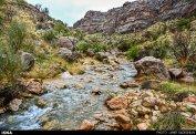 Iran Fars Province Tarom waterfall 1