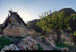Iran Fars Province Tarom waterfall 10