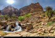 Iran Fars Province Tarom waterfall 4