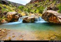 Iran Fars Province Tarom waterfall 6