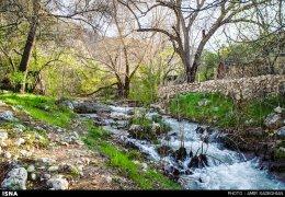 Iran Fars Province Tarom waterfall 7