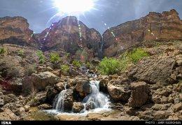 Iran Fars Province Tarom waterfall 9