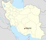 Iran, Neyriz map