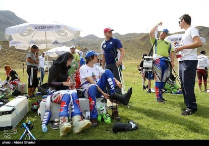 2015, August - FIS Grass Ski World Cup in Dizin, Iran - 02