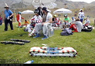 2015, August - FIS Grass Ski World Cup in Dizin, Iran - 43