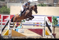 3rd Naqsh-e-Jahan Cup - Show jumping competition in Isfahan, Iran - 12