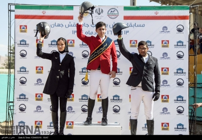 3rd Naqsh-e-Jahan Cup - Show jumping competition in Isfahan, Iran - 22