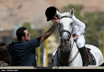 3rd Naqsh-e-Jahan Cup - Show jumping competition in Isfahan, Iran - 3