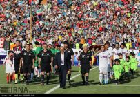 Charity game in Iran with Football World Stars - Match 1