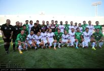 Charity game in Iran with Football World Stars - Match 6