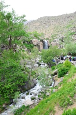 Hamedan, Iran - Ganjnameh's waterfall next to the cuneiform inscriptions of Darius and Xerxes - 5 - Photo credits Panoramio's user Alexandru Velcea