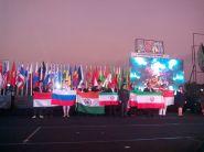 Gold medalists at IOAA 2015 held in Semarang, Indonesia