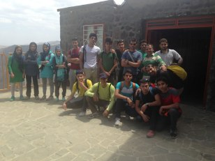 Iranian youth and junior national climbing team members training in Hamedan - 2015 July - 06