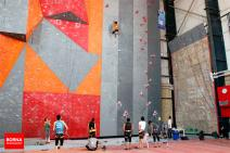 Iranian youth and junior national climbing team members training in Hamedan - 2015 July - 11