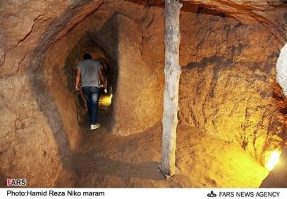 Isfahan, Iran - Nushabad, underground city 10