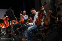Tehran Symphony Orchestra and China Philarmonic Orchestra performing together on August 2015 in Tehran, Iran 4