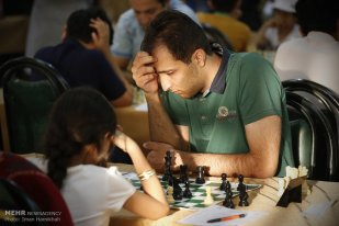 12th International Open Chess Tournament Avicenna Cup in Hamedan, Iran 21