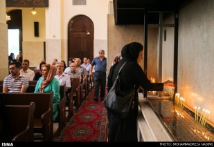 Holy Muron Christian Armenians Iran Tehran Sarkis church 10