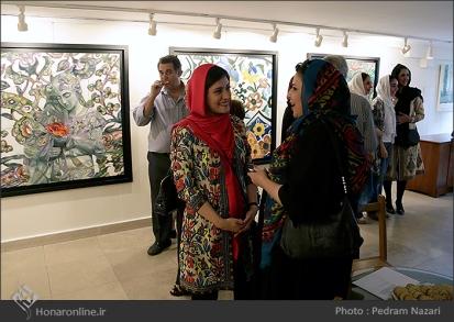 'Distant memories' by Iranian artist Tara Behbahani - Tehran 2015 - 03