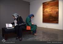 'Emigrants that carry away their memories' by Iranian artist Shirin Ettehadieh - Tehran 2015 - 03