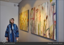 'Emigrants that carry away their memories' by Iranian artist Shirin Ettehadieh - Tehran 2015 - 06