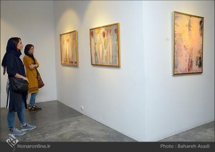 'Emigrants that carry away their memories' by Iranian artist Shirin Ettehadieh - Tehran 2015 - 12