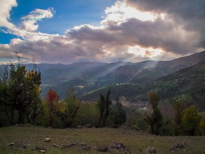 Gilan and Ardabil Provinces, Iran - Road from Pounel (Gilan) to Khalkhal (Ardabil) 38 - (Photo by Ali Memari - Panoramio User 4500840)