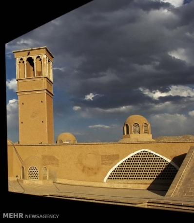 Isfahan, Iran - Kashan - Windcatchers (Ancient Iranian Cooling System) 01b