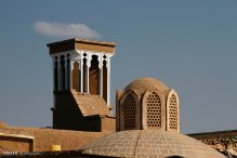 Isfahan, Iran - Kashan - Windcatchers (Ancient Iranian Cooling System) 03